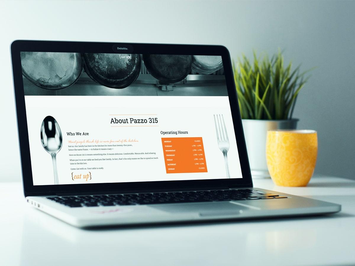 raleigh graphic designer hospitality restaurant web design