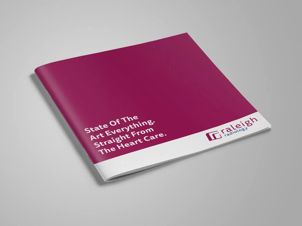 raleigh graphic designer healthcare logo design print design brochure