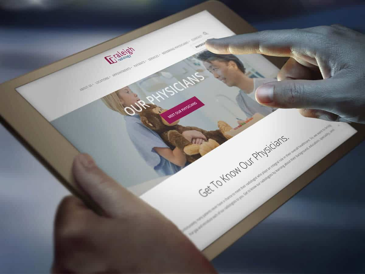 raleigh graphic designer healthcare logo design web design